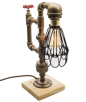 "Loft Style Lamp ""The Cage"""