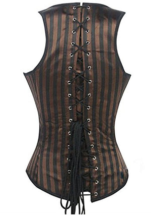 Steampunk Tesla Steel Boned Waist Training Corsets