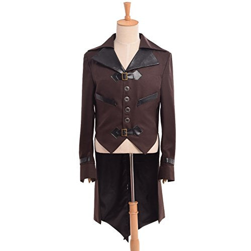 Gothic Tailcoat Victorian Steampunk VTG Coat Jacket