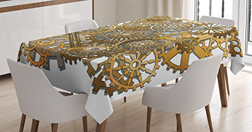 Steampunk Mechanical Table Cover