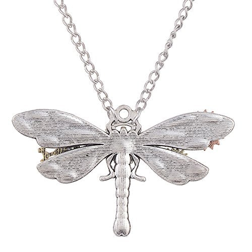 Steampunk Dragonfly Pendant