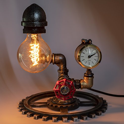 "Loft Style Vintage Metal Dimmable Table Lamp ""Sam"""