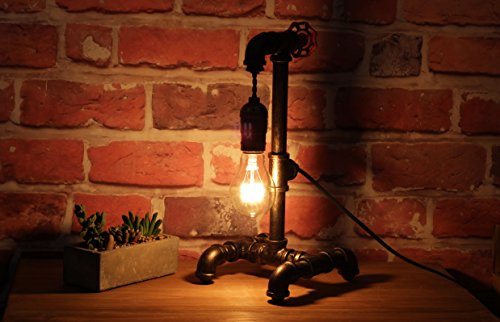 Loft Style Lamp with Dimmer