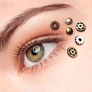 Steampunk Gothic Eye Decals
