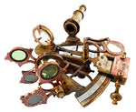 Brass Ship History Sextant