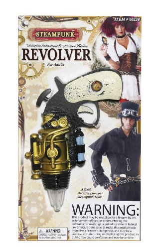 Steampunk Revolver Theater Prop