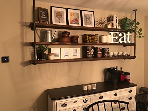 Industrial Retro Pipe Shelf