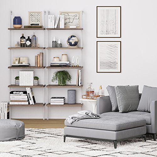 Theo 5 Shelves Bookcase