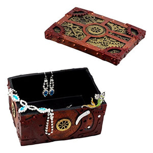 Steampunk Mechanical Gears Clockwork Decorative Box