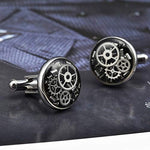 Steampunk Mens Cufflinks