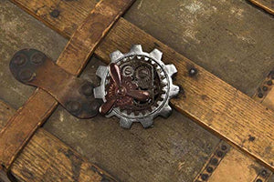 Propeller Gear Steampunk Pin