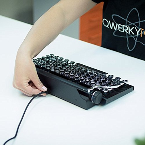 Typewriter Inspired Mechanical Wired & Wireless Keyboard