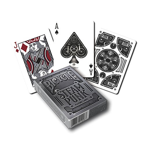Steampunk Poker Size Standard Index Playing Cards