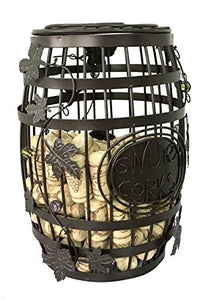 ESK Collection Wine Barrel Cork Storage Cage
