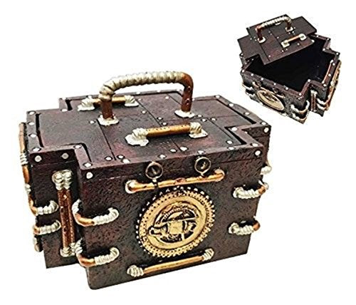 Steampunk Gauge Medic Jewelry Box