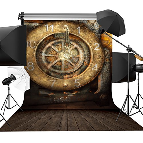 Old Clock Wall Photography Background