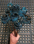 Set of 12 Stardust Forever Copper Roses