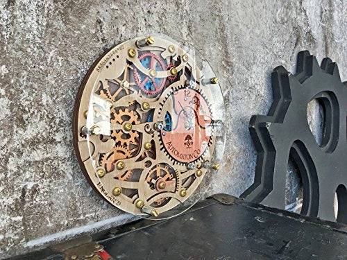 Automaton wall clock 1832 HANDCRAFTED