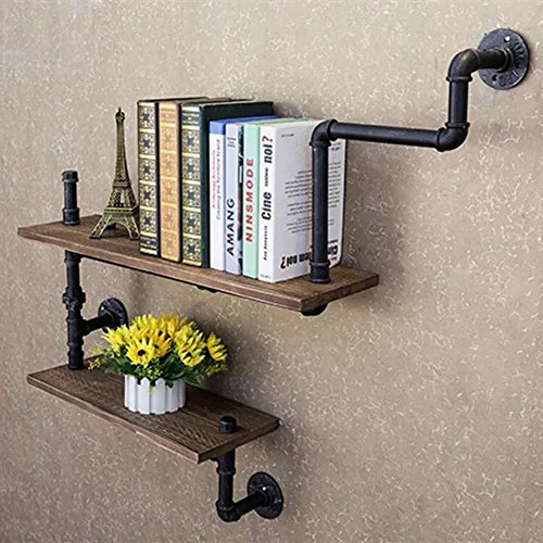 Steampunk Rustic Urban bookshelf
