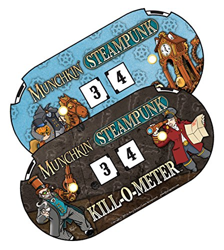 Munchkin Steampunk Kill-O-Meter Card Game