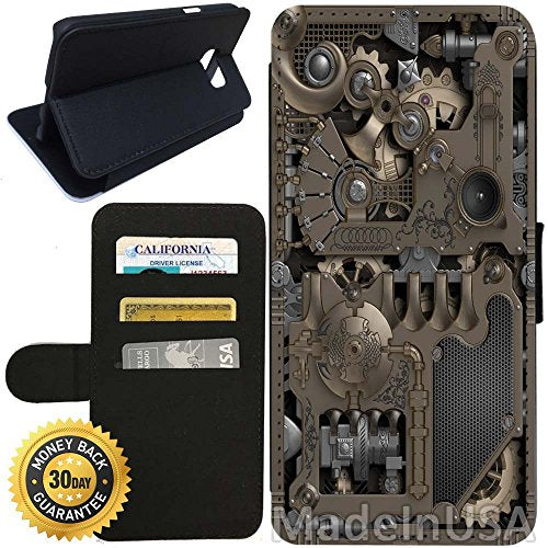 Steampunk Flip Wallet Case