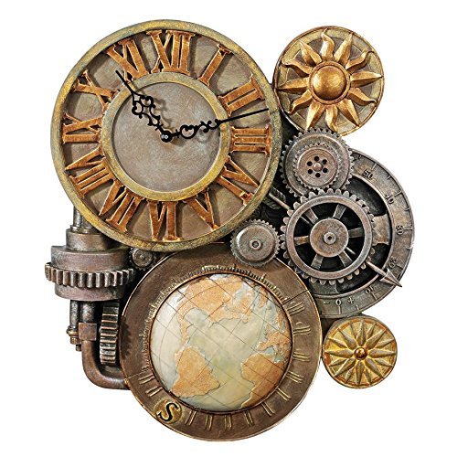 Steampunk Wall Clock Sculpture