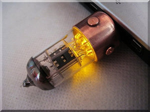Steampunk Vacuum tube Usb flash drive
