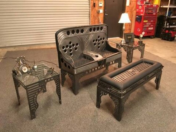 Steampunk Art Car Part Furniture