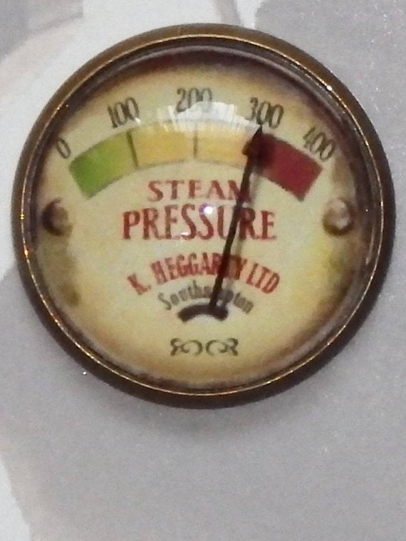 25mm Vintage Steampunk Gauge Accessory