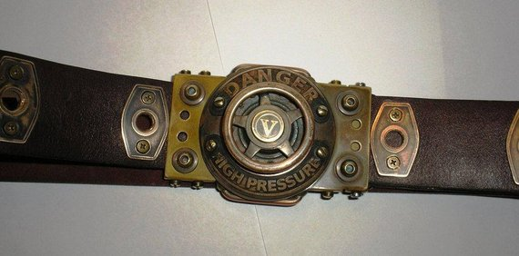 Steampunk Belt of the Operator of the Steam Machine