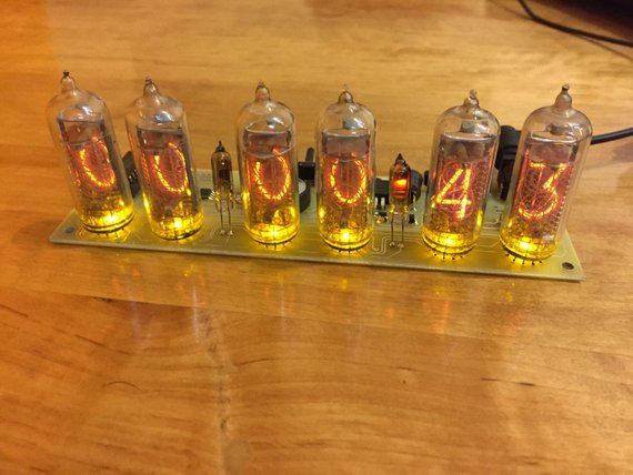 BIG Nixie Tubes Clock