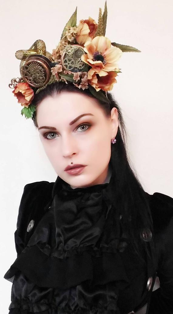 Steampunk headpiece