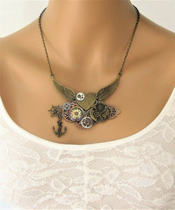 Anchor Steampunk Jewelry