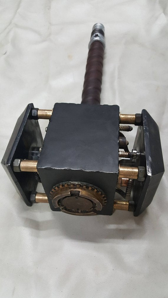 Steamjolnir - Mythical Steampunk Hammer of Thor