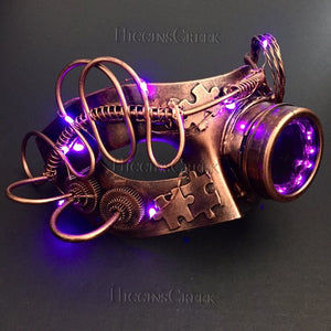 Steampunk LED Mask