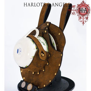 Steampunk Holster, Teacup and Saucer Included