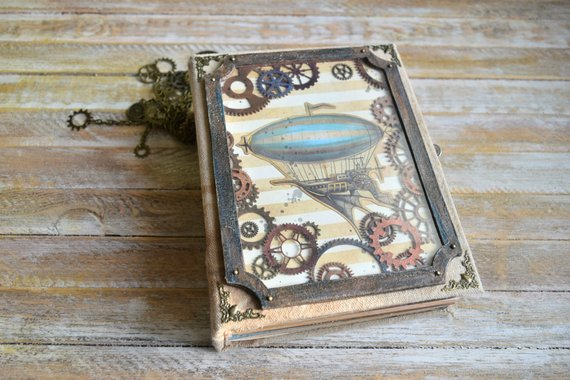 Steampunk Collage Junk Journal