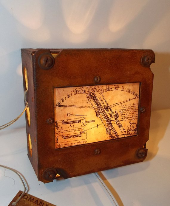 "Leonardo da Vinci ""Crossbow"" Night Light"