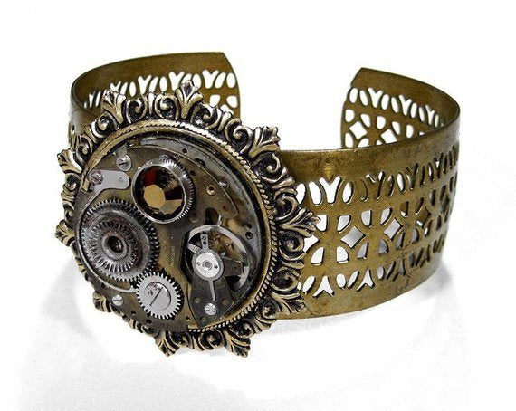 Steampunk Jewelry Cuff