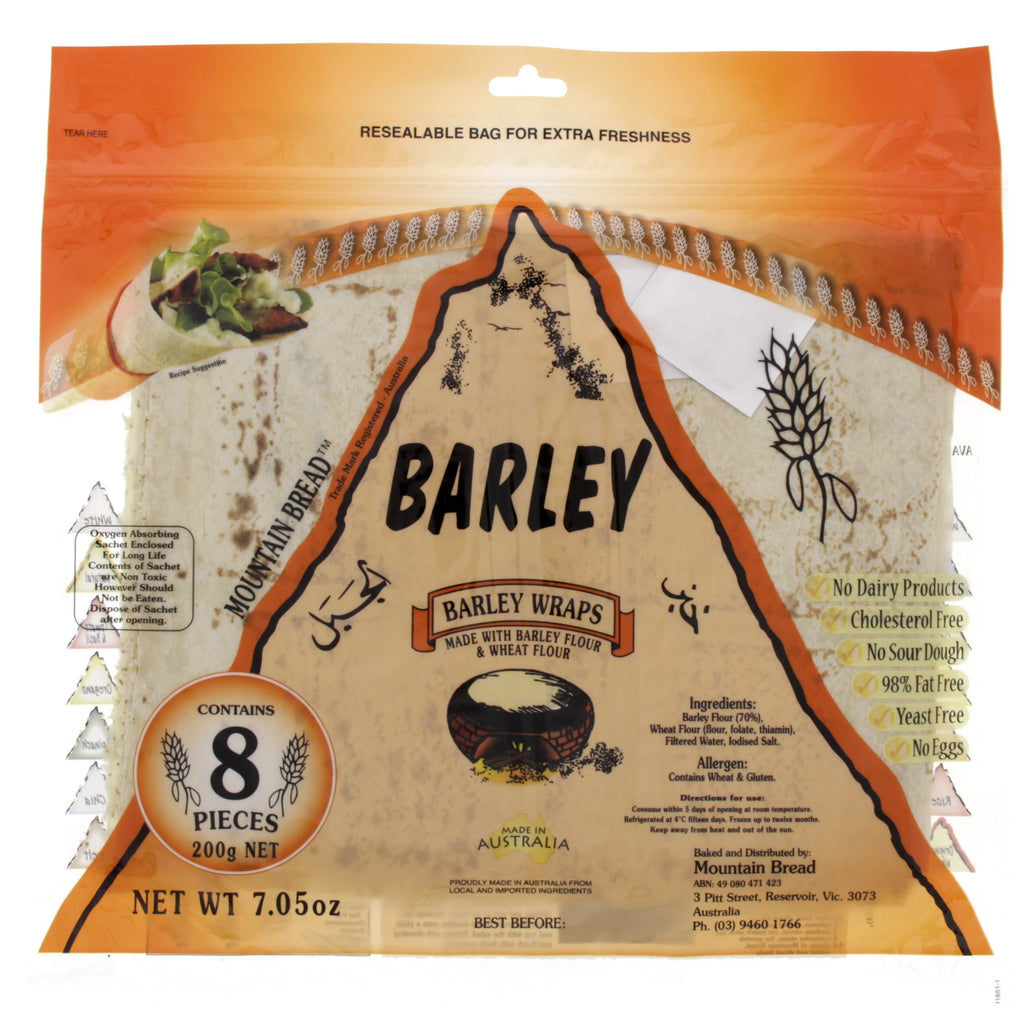 Mountain Bread Barley 200g