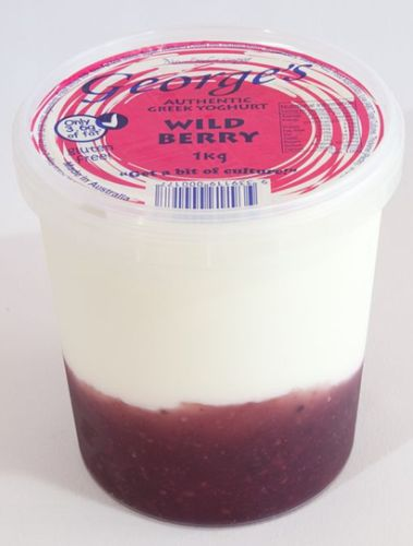 George's Yog. Wildberry 1kg/6