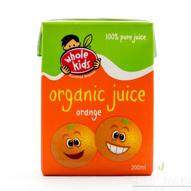 Organic Orange Poppers 200ml