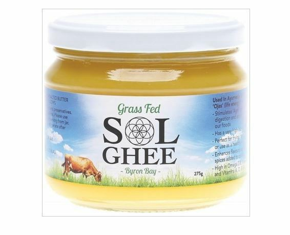 Sol Ghee Grass Feed 275g