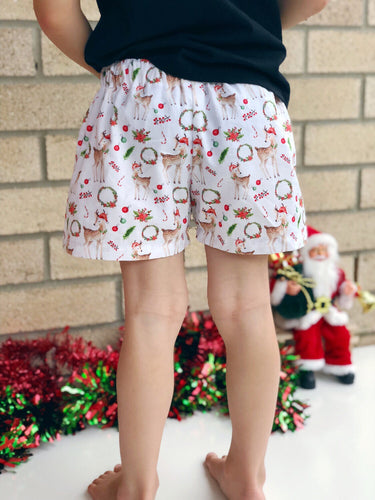 Boy Reindeer Shorts