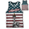 Statue of Liberty Jersey w/ Beer Holder
