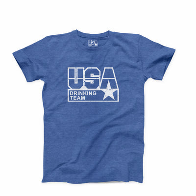 The USA Drinking Team Classic Logo T-Shirt