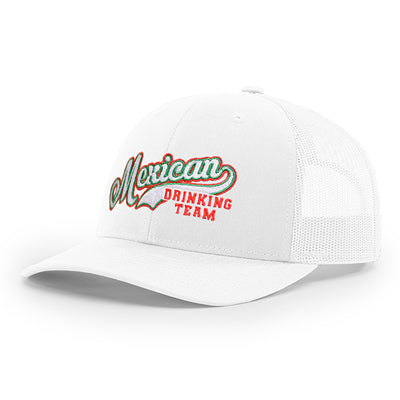 Mexican Drinking Team Logo Trucker Hat