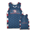 USA Drinking Team Stars and Stripes Basketball Jersey