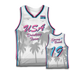 Spring Break 2019 Basketball Jersey - White