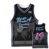 Spring Break 2019 Basketball Jersey - Black